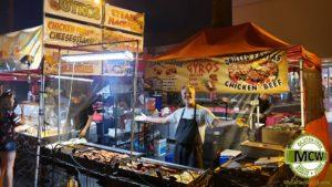 Palm Springs Village Fest - Celiac Gluten Free Chicken and Rice gyros stand